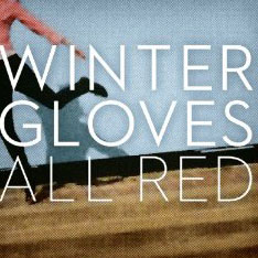 Winter Gloves: All Red